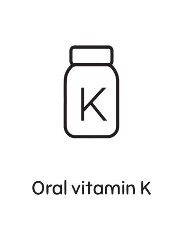 Oral Vitamin K